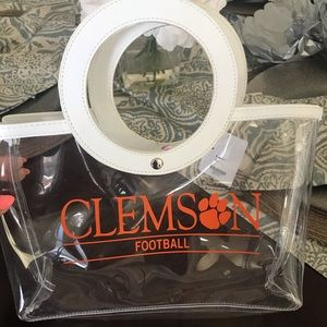 Clear game day bag